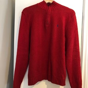 Red cotton sweater from Polo by Ralph Lauren